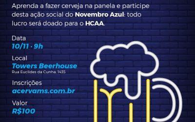 Curso de Produção de Cerveja na Panela – Novembro Azul