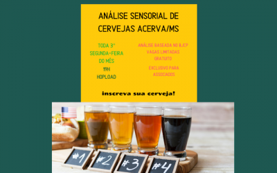 Análise Sensorial de cervejas ACervA MS